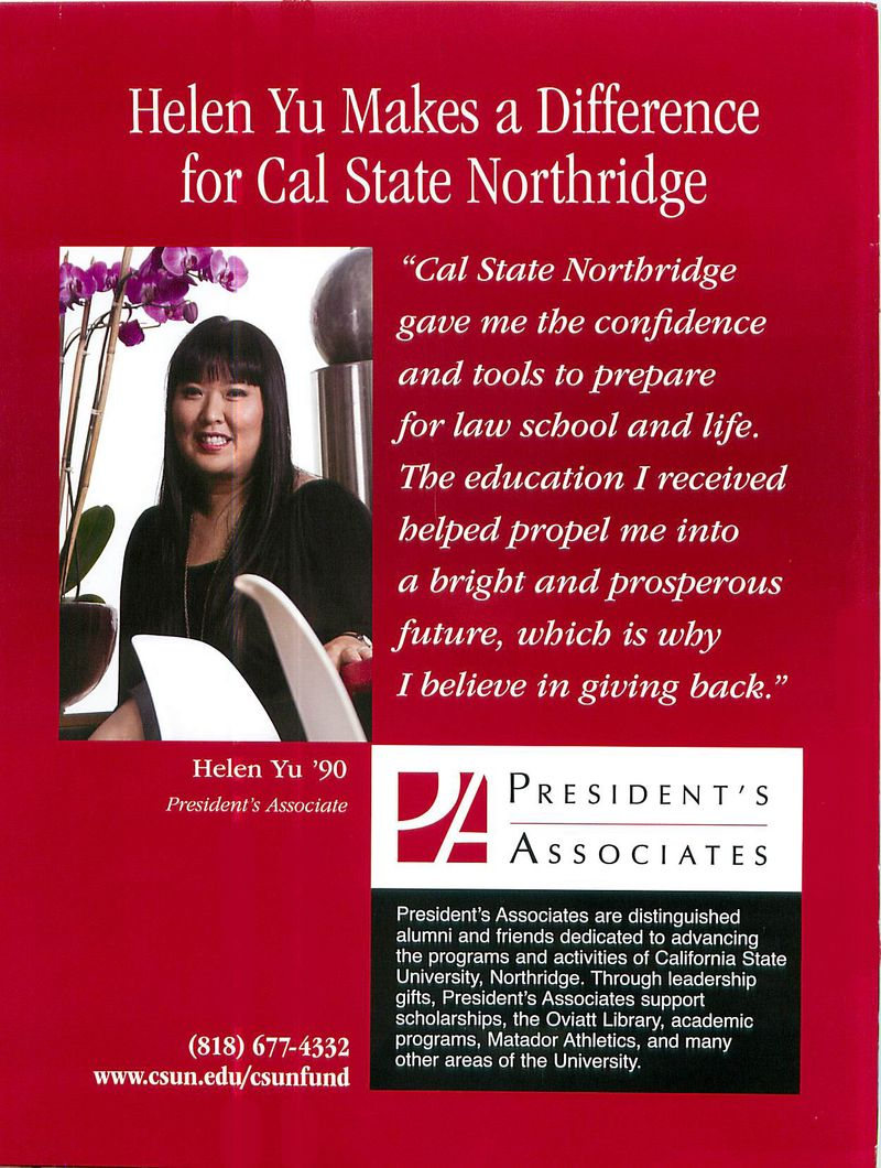 NorthridgeMagazine.Summer09.backcover