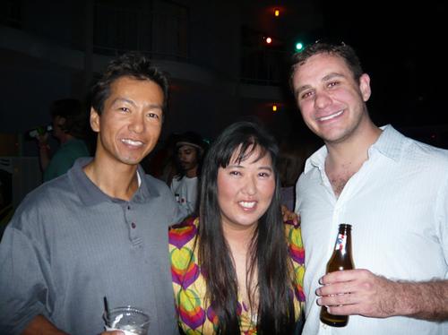 New Line Cinema Party - David Quan, Zack Gershen, & Helen Yu